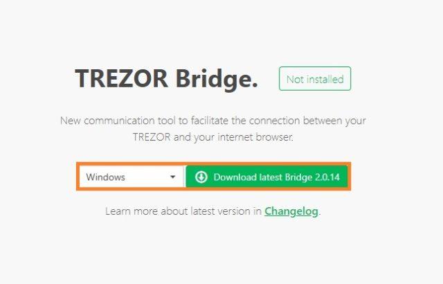 TREZOR Bridge